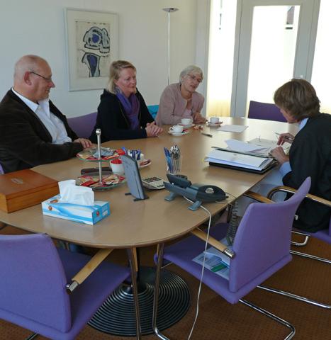 Met dank aan Erna Kortlang, die Stichting De Kunstverleners oprichtte.