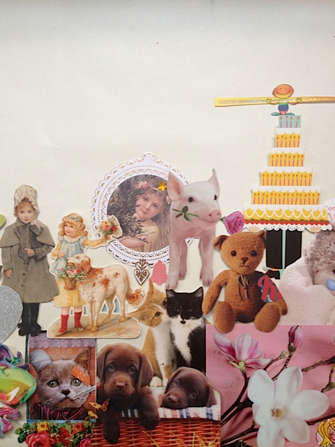Collage en meubelbewerking – kunstenaar Simone de Jong