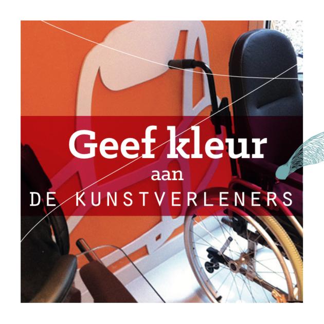 De Kunstverleners Geef Kleur actie